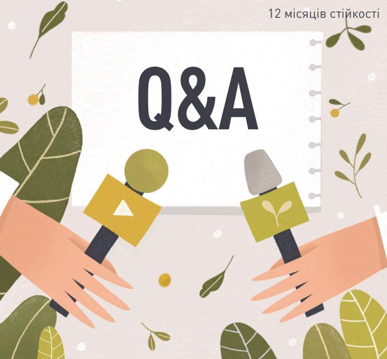 """Запитання-відповіді про програму """"12 місяців стійкості"""""""