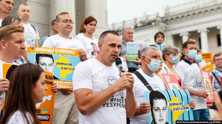 #FreeYesypenko: в Україні та світі виступають на підтримку журналіста